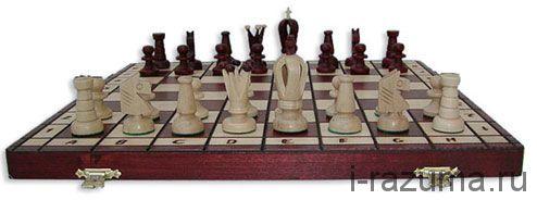 Шахматы Деревянные Королевские 48х48 см